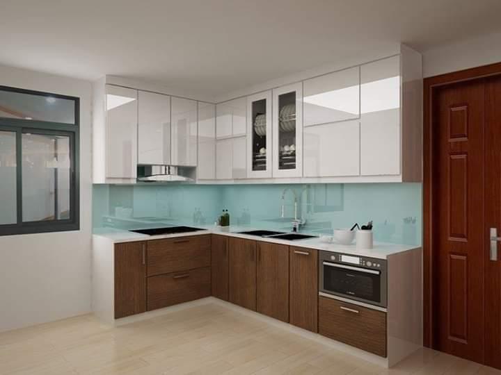 Tủ bếp Acrylic A-047