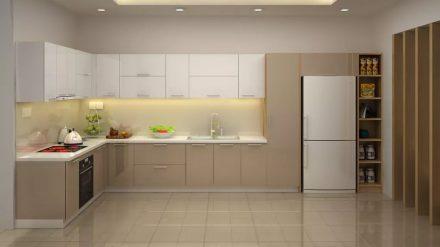 Tủ bếp Acrylic A-015