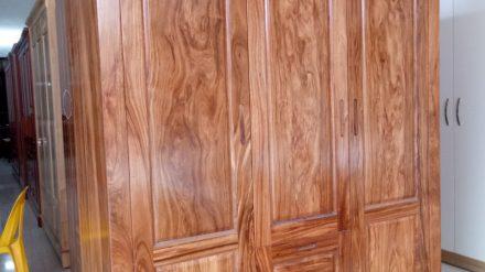 Tủ quần áo gỗ hương xám