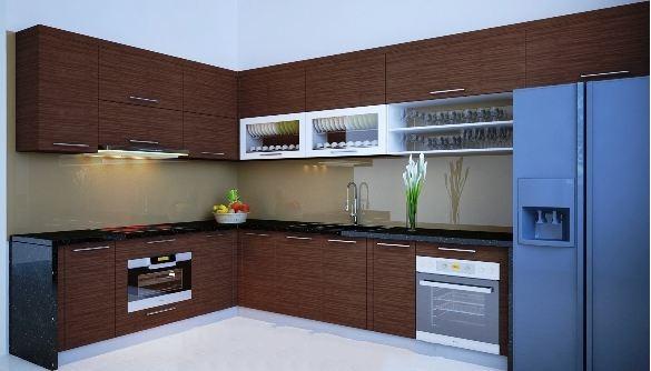 Tủ bếp Laminate LM-011