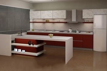Tủ bếp Laminate LM-015