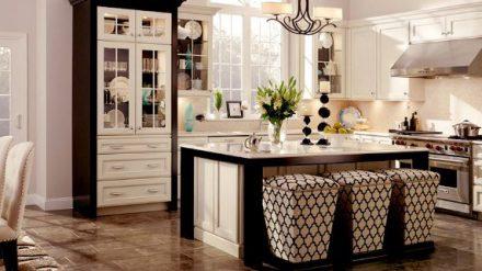 Tủ bếp gỗ Sồi Mỹ SM-03