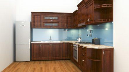 Tủ bếp giáng hương GH-016