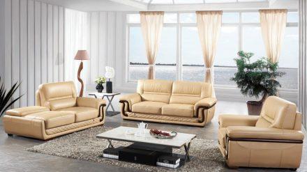 Ghế Sofa da GSD-001