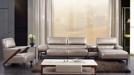 Ghế Sofa da GSD-008