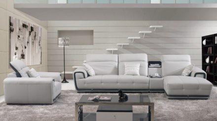 Ghế Sofa da GSD-018