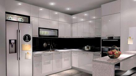 Tủ bếp Laminate LM-041