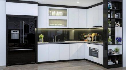 Tủ bếp Acrylic A-037