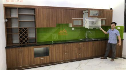 Tủ Bếp Inox Kết Hợp Nhựa Picomat